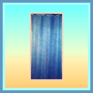 ⭐🌷Better Homes 🏡and Gardens🌱 Blue Curtain Panel